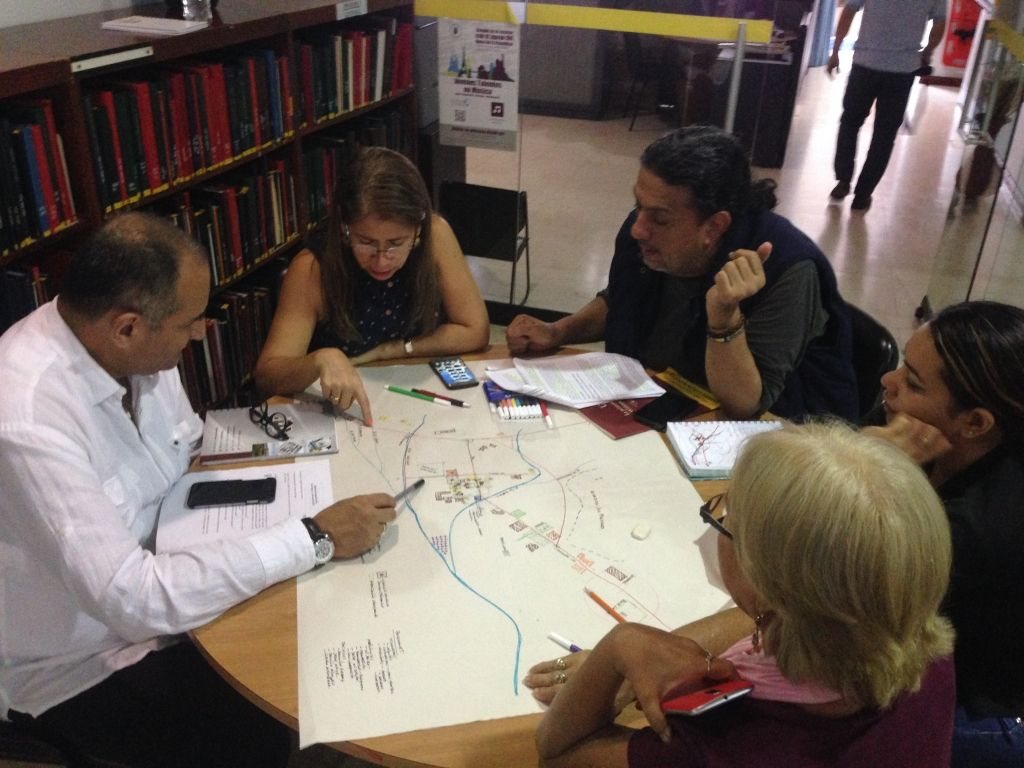 Atelier de discussion et cartographie sociale 2