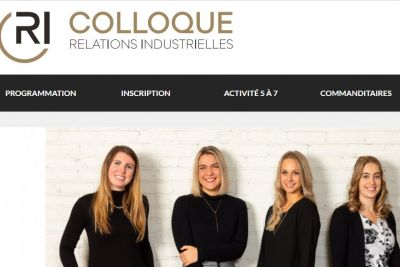 38e Colloque des Relations industrielles